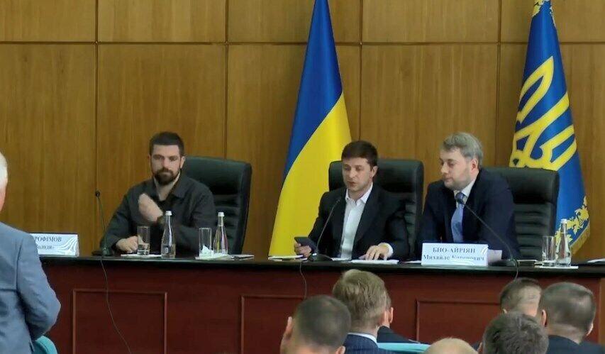Владимир Зеленский и Михаил Бно-Айриян