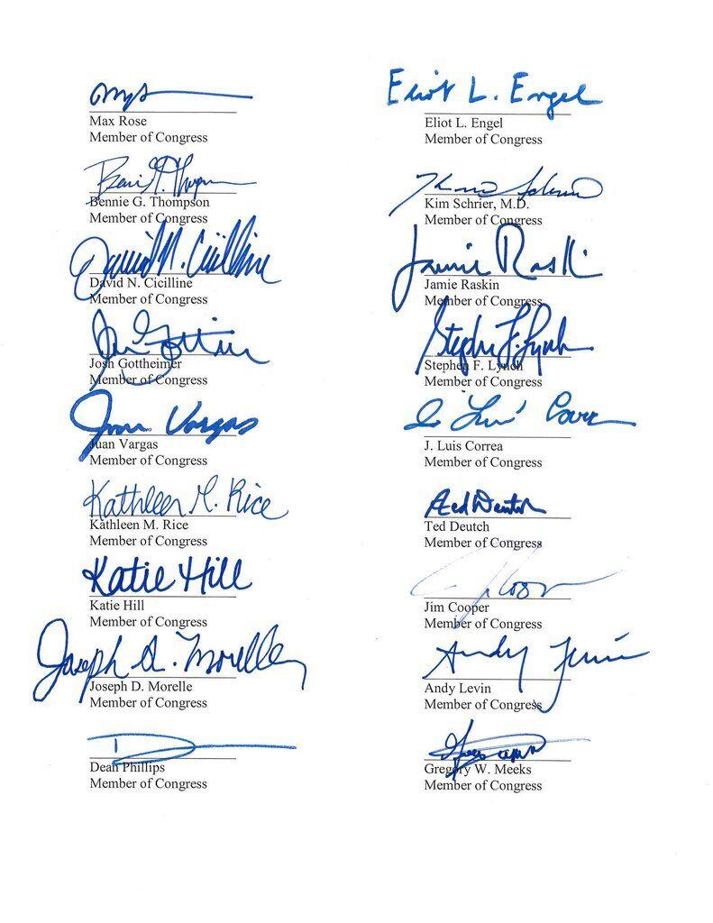 Звернення конгресменів до Держдепу