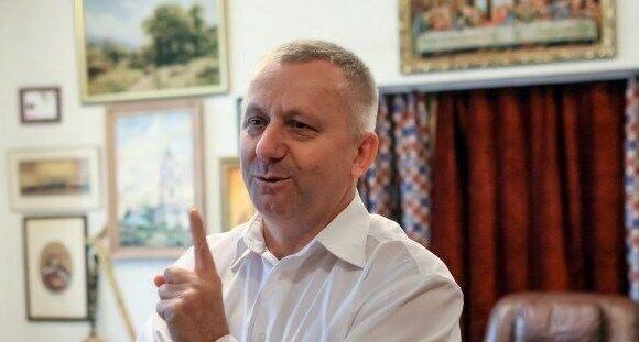 Руководитель хора имени Веревки Зиновий Коринец