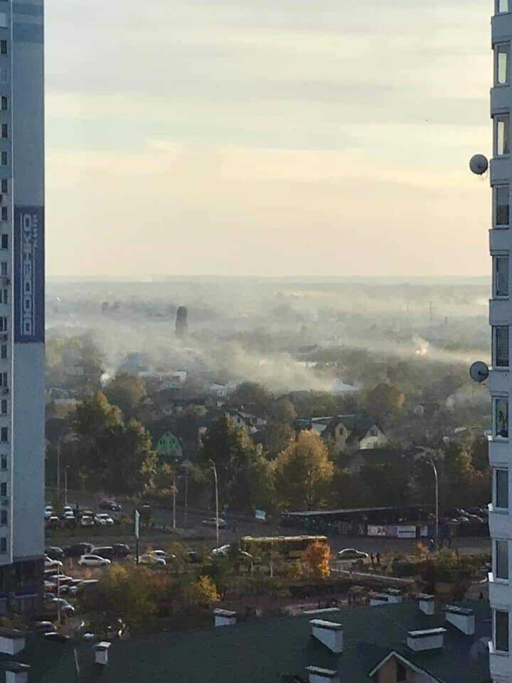 Так выглядят дачи на Осокорках в Киеве