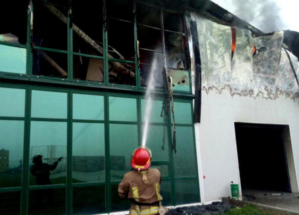 Пожежа на підприємстві