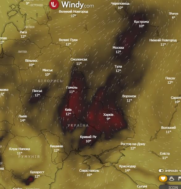 Страну накрыл ядовитый смог: когда он исчезнет и чего опасаться украинцам