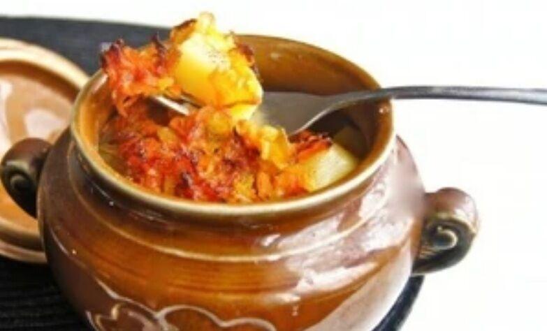 Рецепт дуже смачної картоплі в горщиках