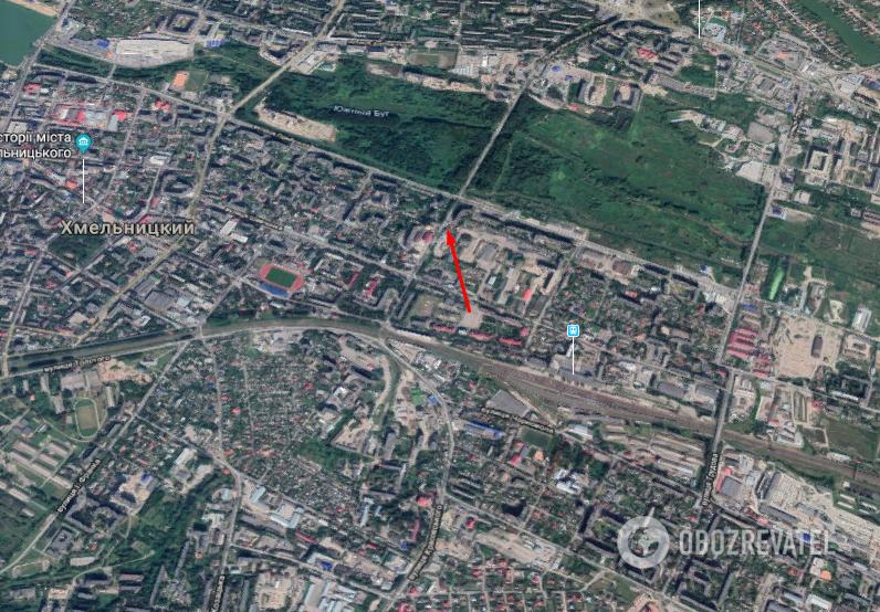 Авария произошла на перекрестке ул. Водопроводная и Староконстантиновское шоссе