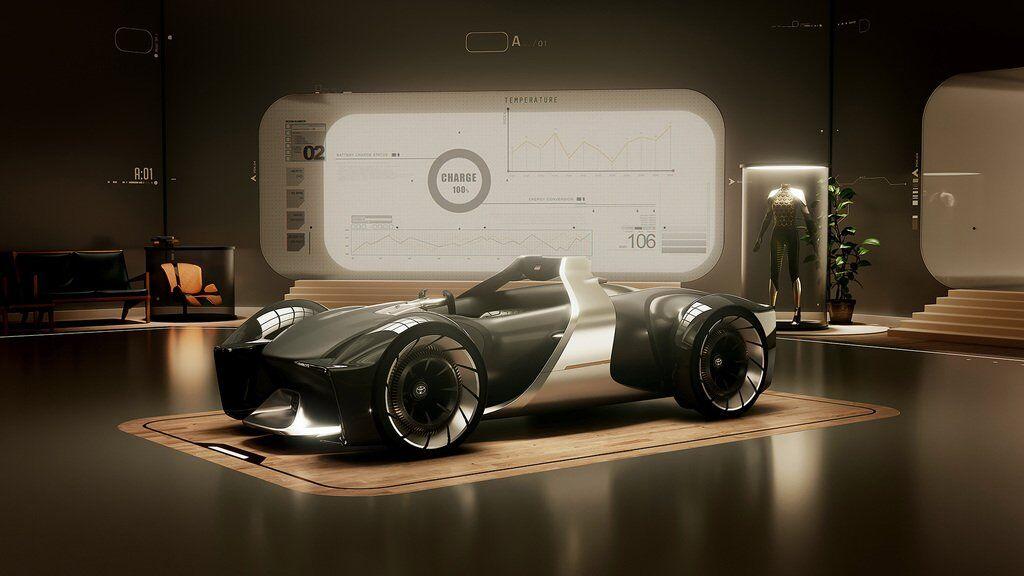 Toyota e-Racer позволит почувствовать себя за рулем болида Формулы-1