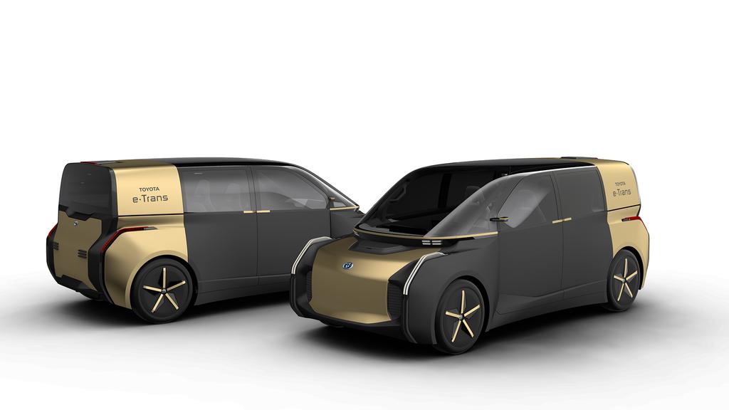 Toyota e-Trans прекрасно подойдет для каршеринга