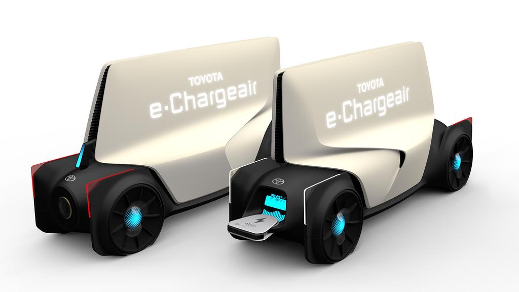 Toyota e-Chardger придет на помощь, когда в вашем авто закончится батарейка