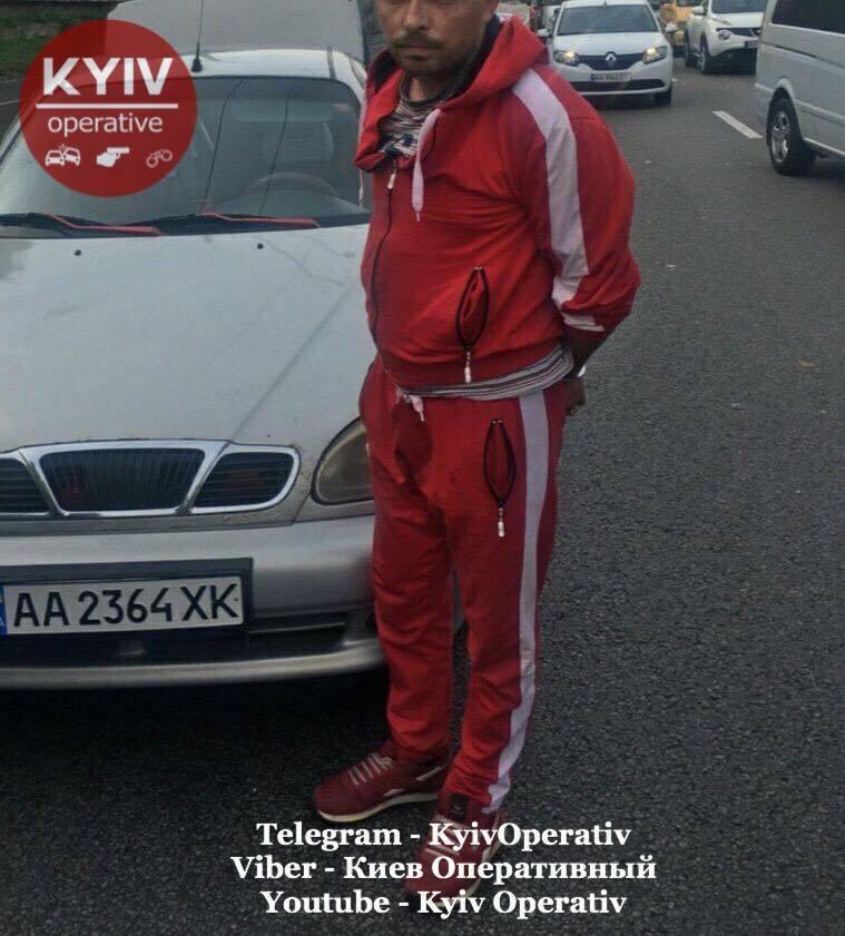 Водитель одного из задержанных авто