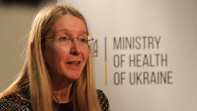 Колишня в.о. міністерка охорони здоров'я України Уляна Супрун