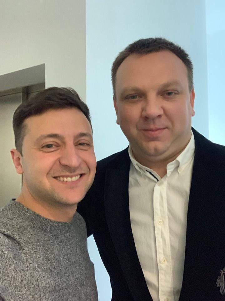 Зеленський і Ткаченко
