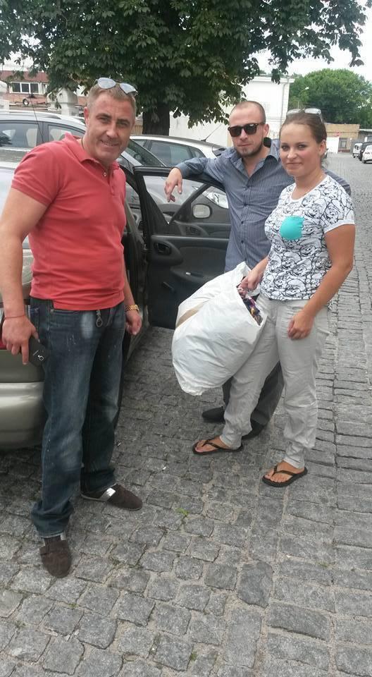 В последнее время Настя занималась волонтерством