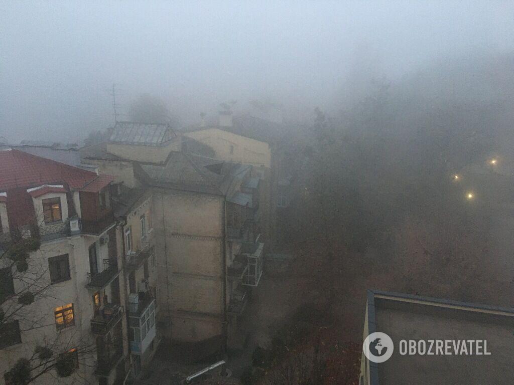 Смог у Києві