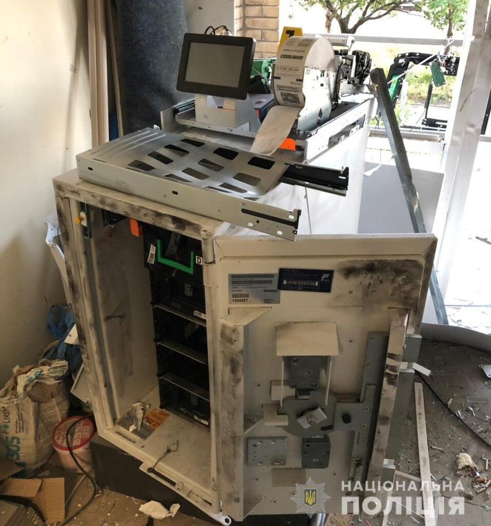 Банкоматы взрывали при помощи газовоздушной смеси