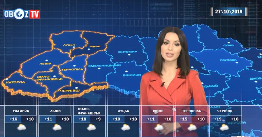 Местами +20: прогноз погоды в Украине на 27 октября от ObozTV