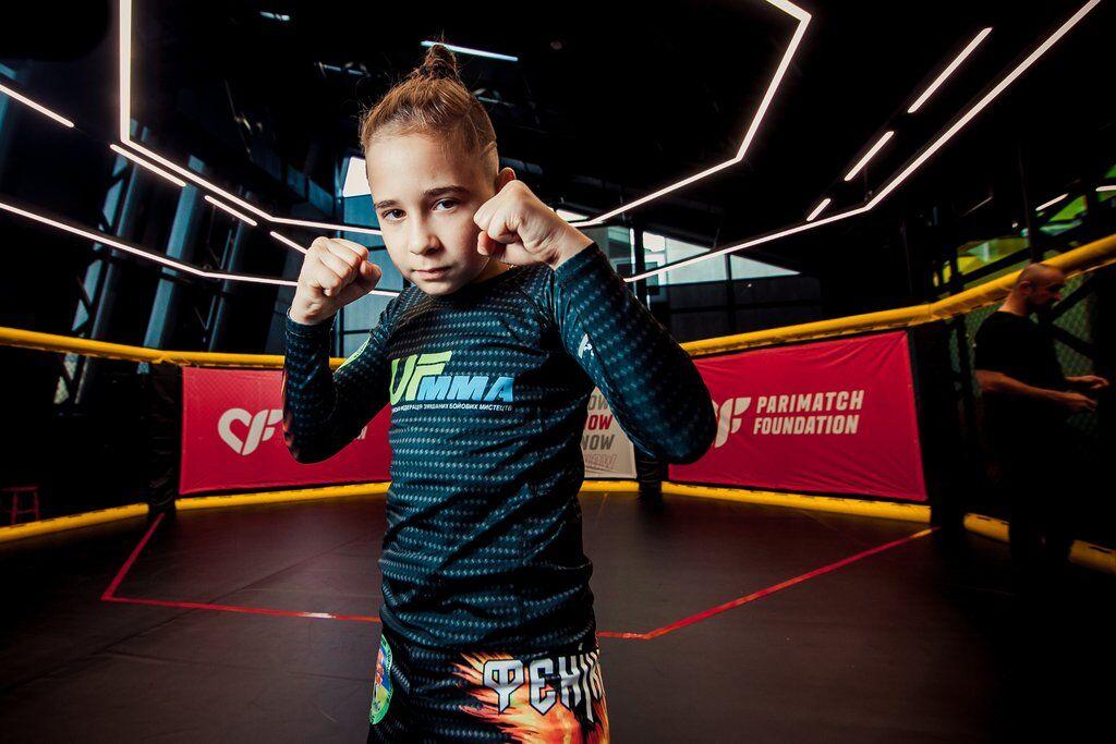 В Киеве состоялся турнир по MMA среди детей