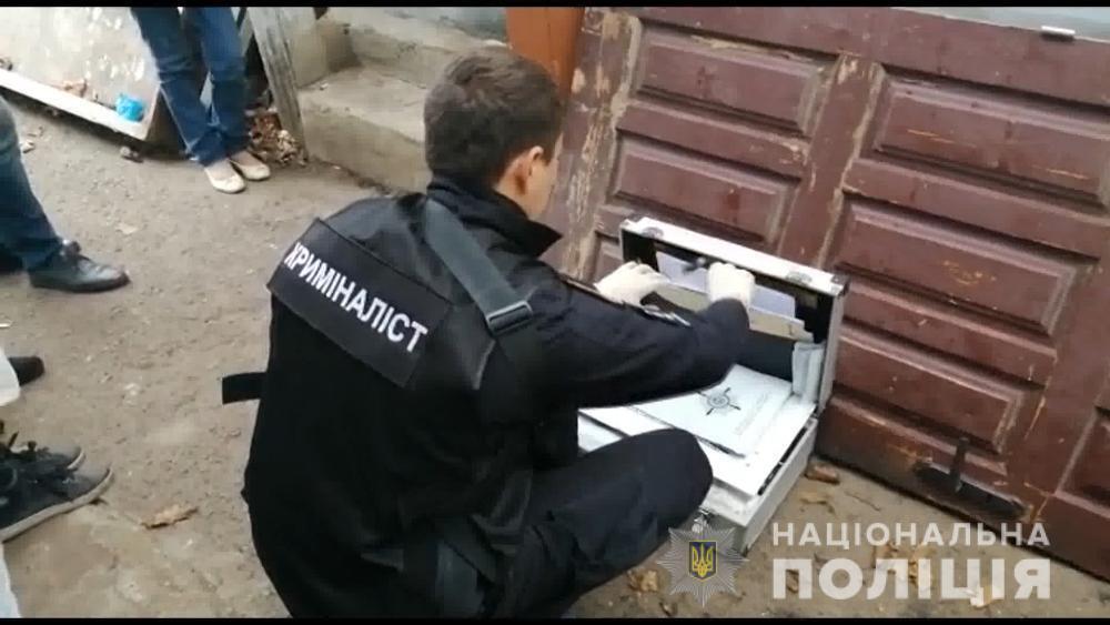 Тройное убийство под Одессой