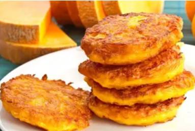 Рецепт неймовірно смачних оладок з гарбуза