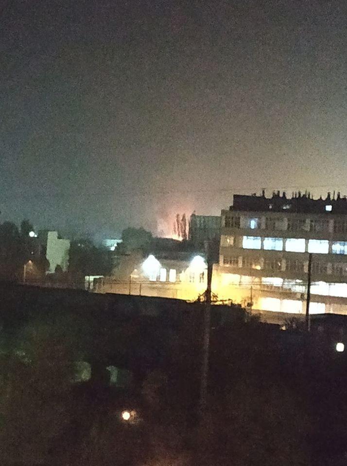 """В Днепре произошел взрыв на заводе """"Потоки"""""""