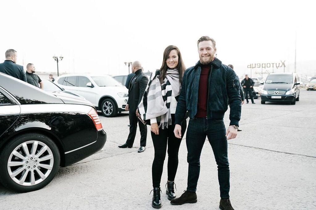Конор МакГрегор в Киеве