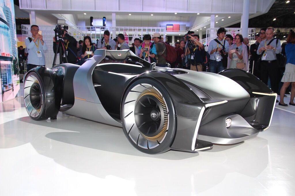 Концепт электрокара E-racer