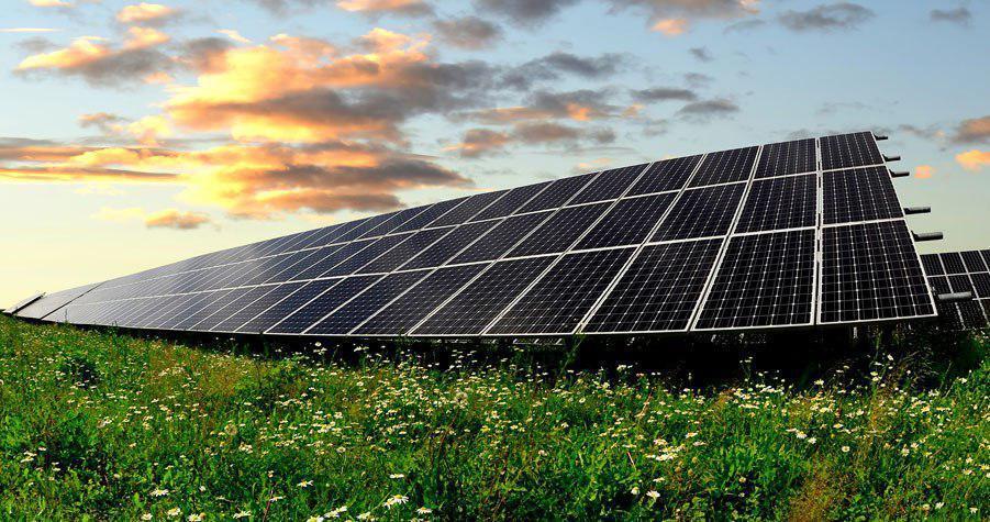 Проект промышленной солнечной станции