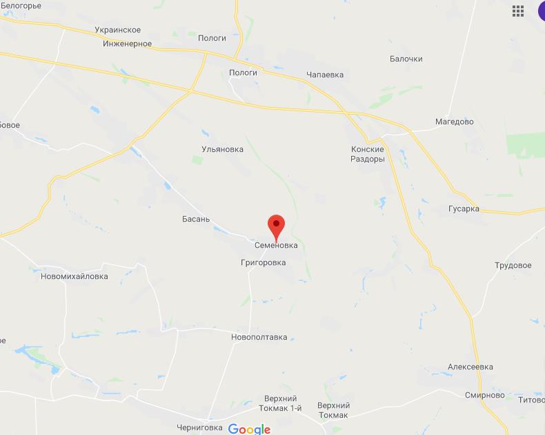 Місцезнаходження села