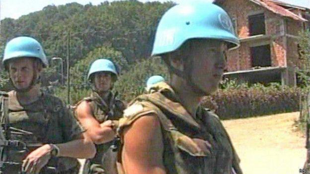 Сребреница была зоной ответственности голландских миротворцев