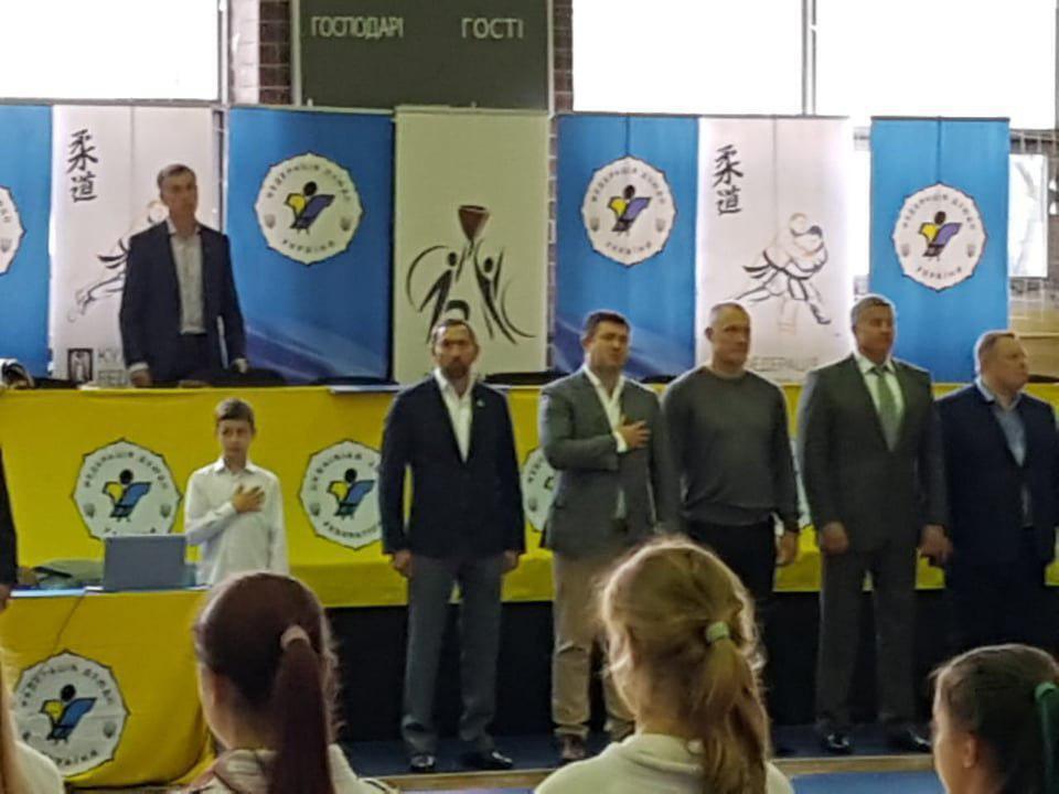Стартував чемпіонат України з дзюдо