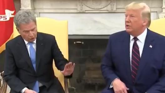 Трамп угодил в конфуз с президентом Финляндии