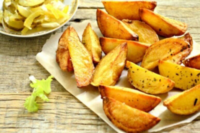 Рецепт изумительной печеной картошки