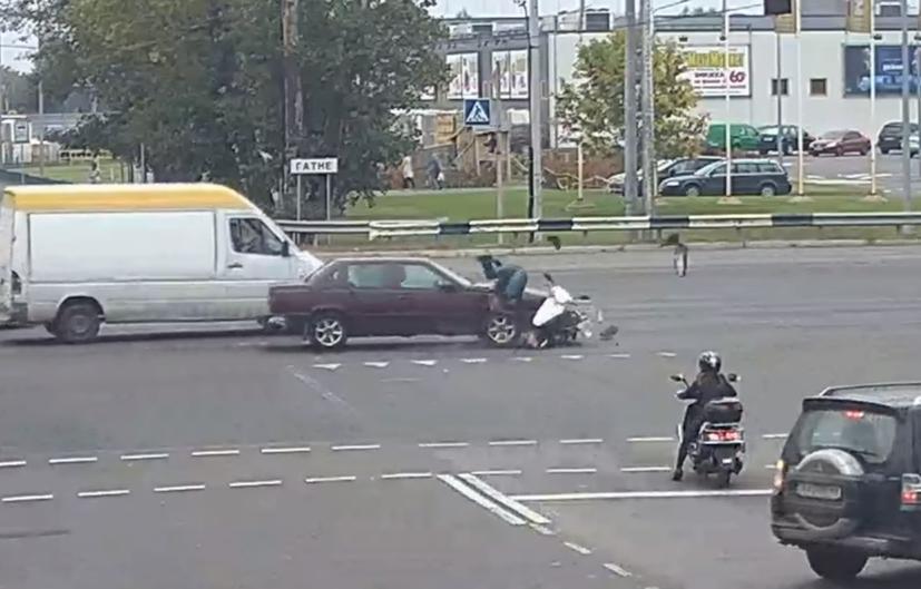 ДТП зі скутером