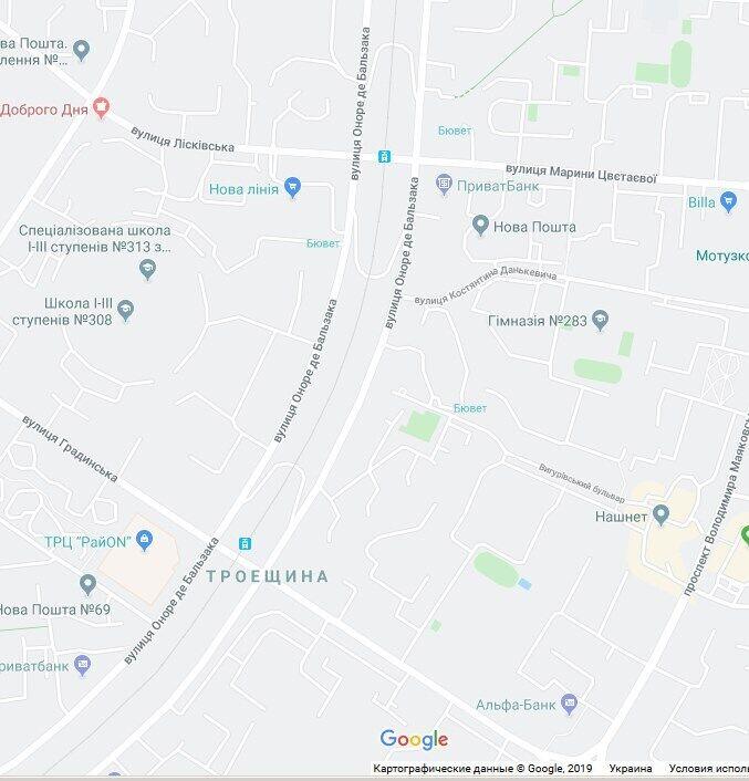 Мужчину изнасиловали на Троещине, на ул. Оноре де Бальзака