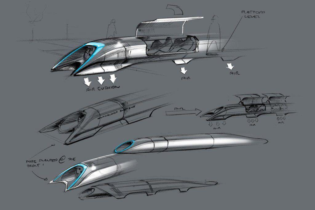 Проект Hyperloop Илона Маска
