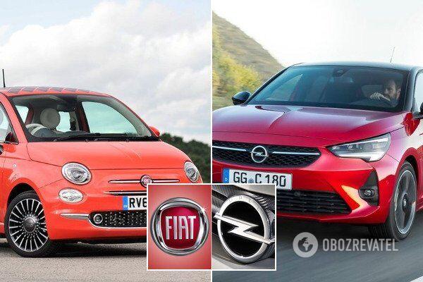 Fiat 500 і Opel Corsa можуть технічно перетворитися в один автомобіль
