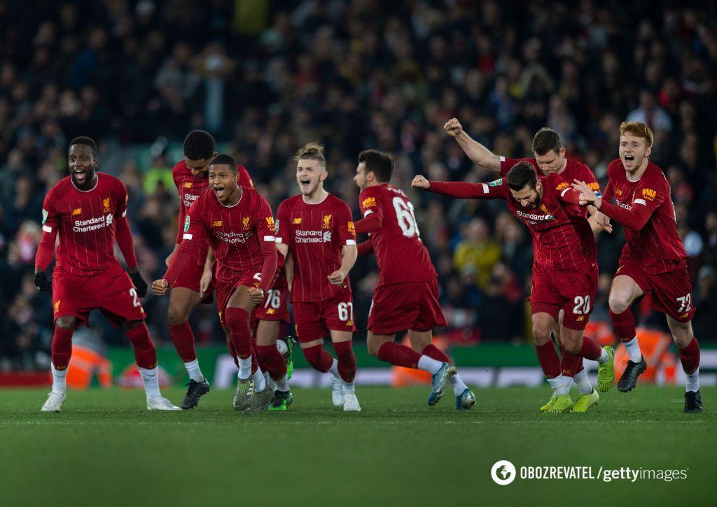 """""""Ливерпуль"""" - """"Арсенал"""" - 5:5"""
