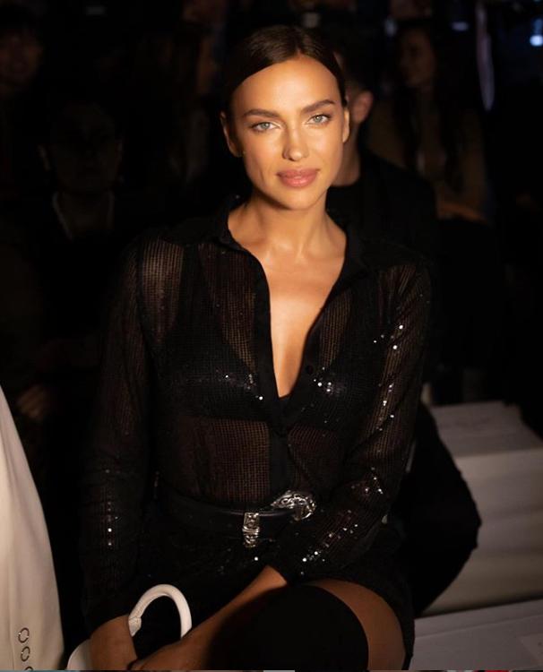Ірина Шейк на модному показі в Італії