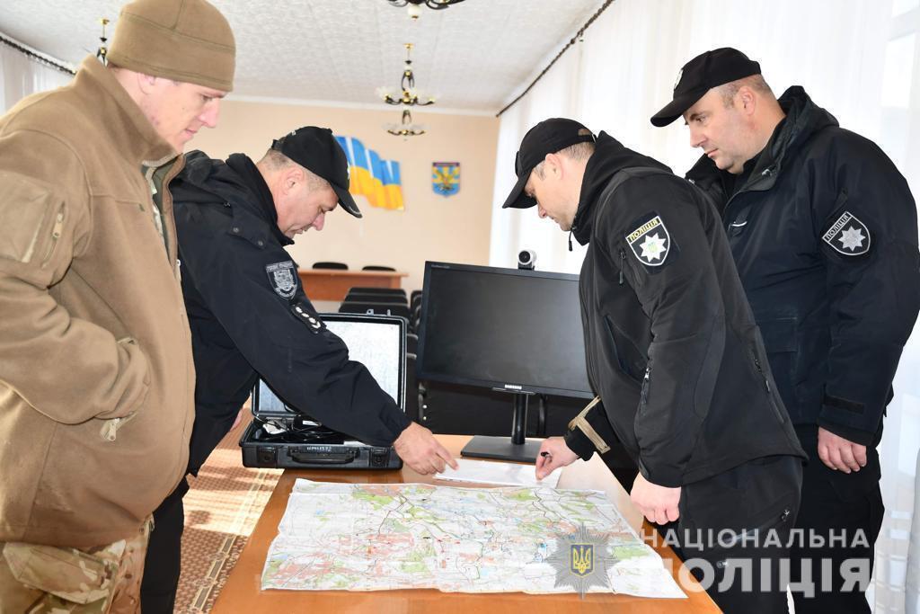 В полиции показали, что происходит в Золотом