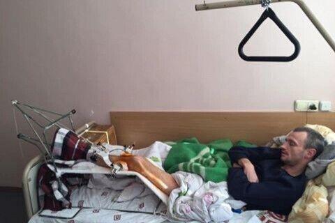 Вячеслав Химикус после ранения
