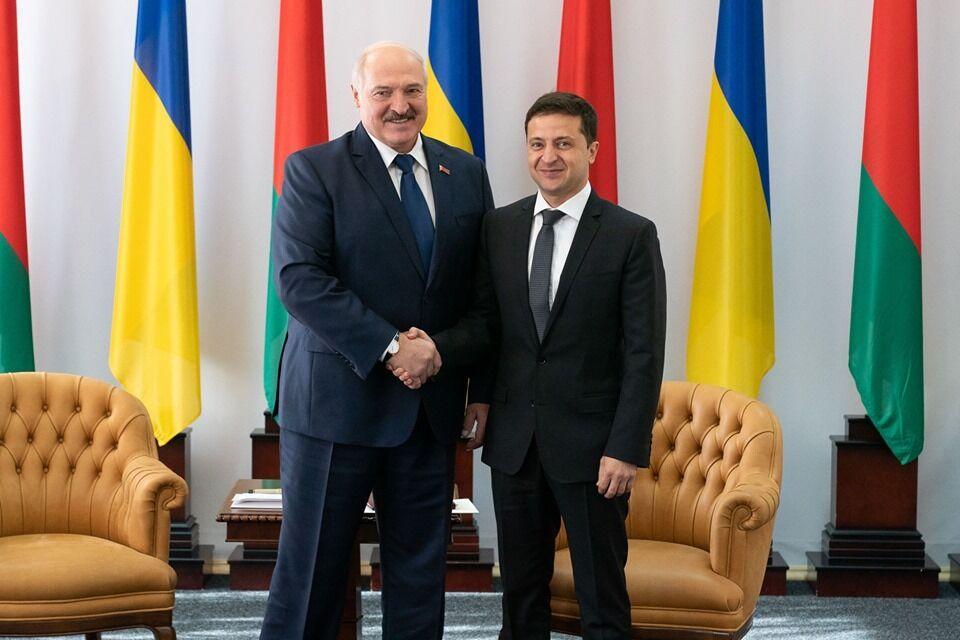 Совместный брифинг Лукашенко и Зеленского