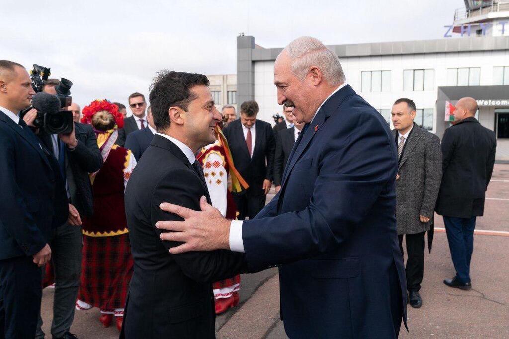 Встреча Владимира Зеленского и Александра Лукашенко в Житомире