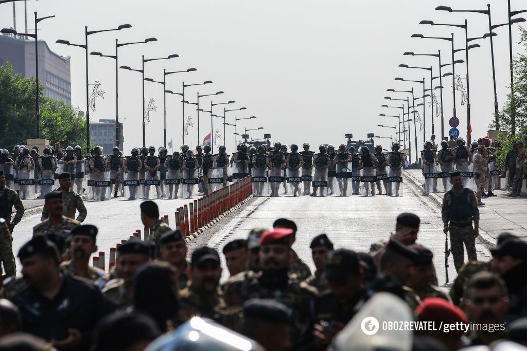 Антиправительственные протесты в Ираке