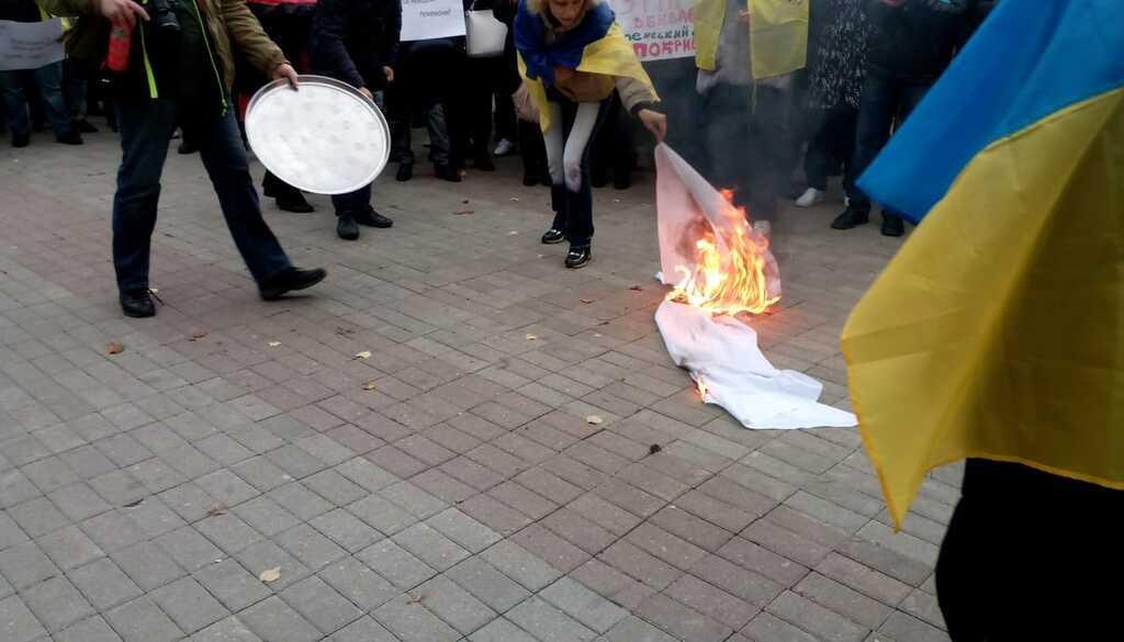 """Дніпряни виступили проти підписання """"формули Штайнмаєра"""""""