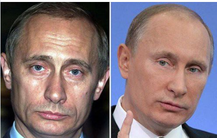 Молодий Путін і у 2017 році