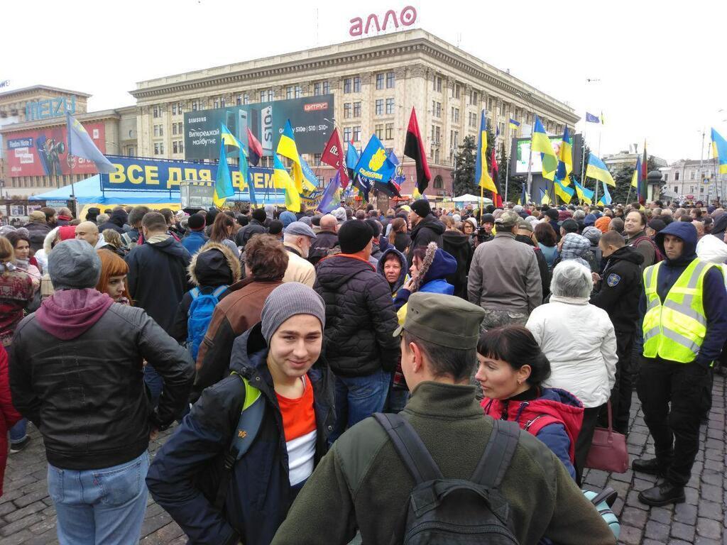 "Акція ""Ні капітуляції"" в Харкові"