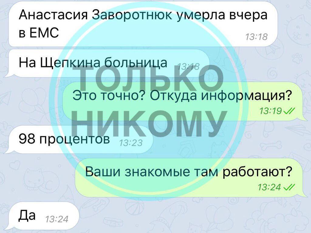 """В России """"похоронили"""" Заворотнюк: директор актрисы отреагировал"""