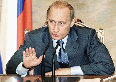 Володимир Путін – 2003 рік