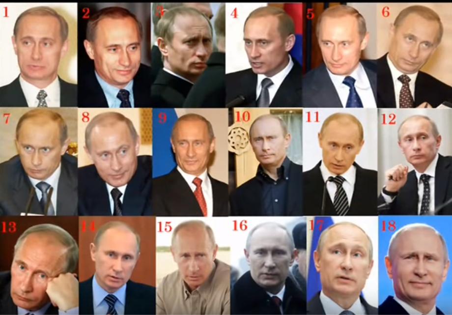 Путіну – 67: як виглядають двійники президента РФ