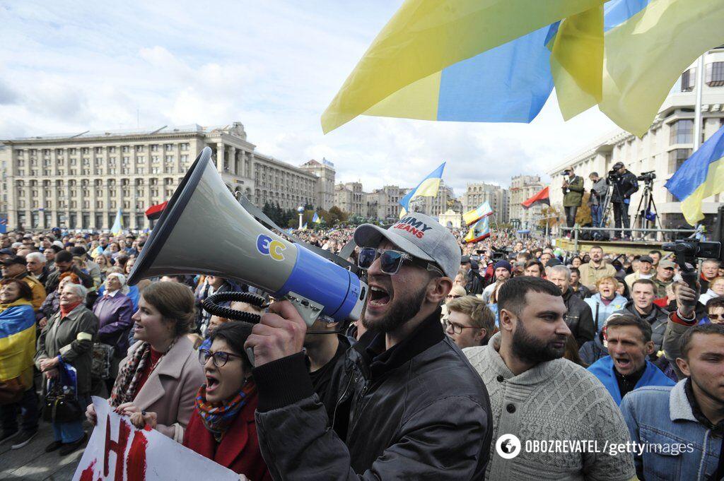 У Києві протести набирають силу
