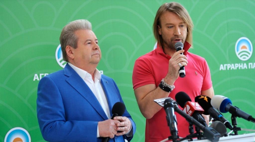 Михаил Поплавский и Олег Винник