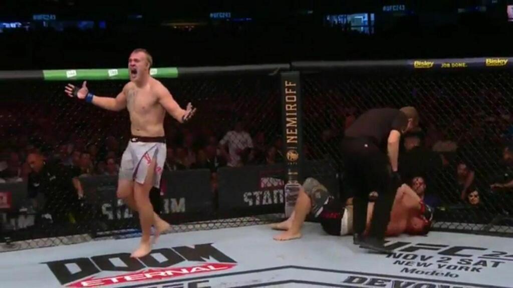 Українець Сергій Співак здобув першу перемогу в UFC